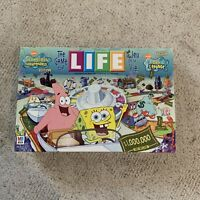 Spongebob Squarepants Edition The Game of Life 2005 Board Game 100% Complete