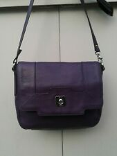 Lovely Plum TULA Leather Carry Bag