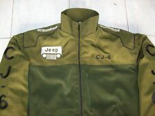 NEU Jeep CJ-6 Fan - Jacke olivgrün oder schwarz jacket veste jas giacca jakka