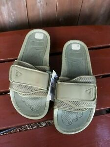 Adidas x Pharrell Williams Chancletas HU slides slippers olive green FY6141
