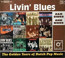 Livin' Blues-The Golden Years A&B sides and More 2 cds Dutch psych
