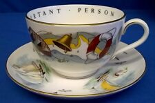 ROYAL WORCESTER VIP CUP & SAUCER SAILING - NAUTICAL MARITIME YACHT BOAT DINGHY