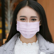 50Pcs One-time Disposable Medical Dustproof Surgical Face Mouth Masks Ear Loop
