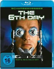 THE 6th DAY (Arnold Schwarzenegger)   BLU RAY - Sealed Region B for UK