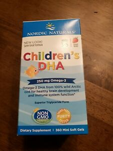 Nordic Naturals Children's DHA - Cognitive Development & Immune Health Soft Gels