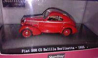 Fiat 508 CS Balilla Berlinetta  1935 Starline  1:43 MINTB