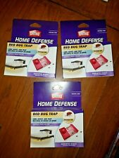 Ortho Home Defense Bed Bug Trap Lot x3 - 2 Packs - 6 Traps Total