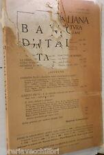 RASSEGNA ITALIANA 1951 Libia Crisi Etiopia 1914 Somalia Produttivita strumento