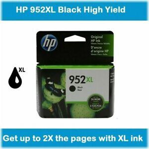 HP GENUINE 952XL Black Ink (NO RETAIL BOX) for OFFICEJET PRO 7740 8702