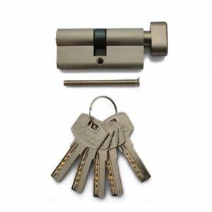 Sicherheitsschloss Knaufzylinder Profilzylinder 60 mm 30/30