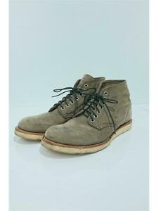 Red wing Lace-Up Us8.5 8152 Gray Size 8.5 Fashion boots 4936 From Japan