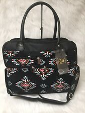 NEW Southern Tribe Aztec Western Print Travel Tote Bag NGIL