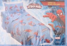Marvel The Ultimate Spider-Man Kids Blanket , Cover NWT Blue 1-Piece 170x270 cm