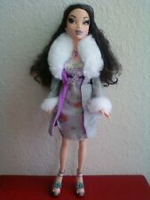 My Scene Goes Hollywood Nolee Doll Black Hair Eyelashes Original Clothes Shoes