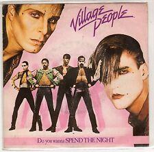 disco 45 GIRI VILLAGE PEOPLE DO YOU WANNA SPEND THE NIGHT - JUNGLE CITY