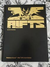 Rifts Kevin Siembieda RPG Gold Edition Printers Proof Palladium SIGNED