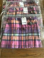 Girls Next Tartan Skirt Available Sizes Age 3 and 5 YEARS
