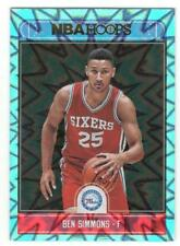 2017-18 Hoops BEN SIMMONS Teal Explosion parallel #2 rare only in jumbo pack HoT