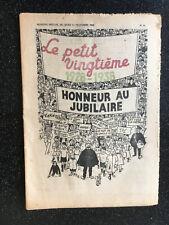 Tintin - Hergé - Le Petit Vingtieme du 15 decembre  1938 - N49 -TTBE