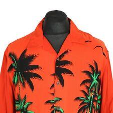 90s Vintage C&A Viscosa Camisa | Retro Aloha Hawaiana con patrón de impresión gráfica