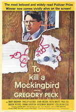 TO KILL A MOCKINGBIRD Movie POSTER 27x40 Gregory Peck Brock Peters