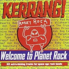 Kerrang Welcome to Planet Rock 1996 UK 32-track 2xcd Near MINT