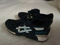 ASICS GEL LYTE III WOMENS NAVY BLUE TRAINERS UK 3 / EUR 36.5 TIE UP LACES