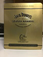 Jack Daniels 2010 Ducks Unlimited Edition Tin  ONLY VERY GOOD Condition
