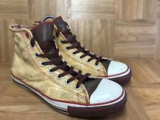 RARE🔥 Converse Red Dr. Romanelli DRx Band Aid Naked Brown Sz 10 Men s Shoes bc34ad2a9