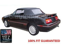 Ford / Mercury Capri Convertible soft Top & Plastic Window Fits: 1990-June 1992