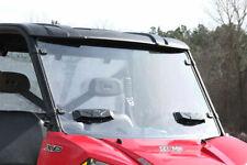 Polaris Ranger Full Size 900 1000 570 XP900 Seizmik Front Versa-Vent Windshield