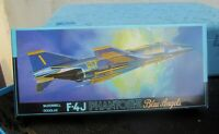 fujimi 7A-G10 Flugzeug F-4J Phantom-II blue angels in ovp 1:72