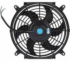 """10 """" inch HIGH PERFORMANCE ELECTRIC RADIATOR COOLING FAN curved BLADE"""