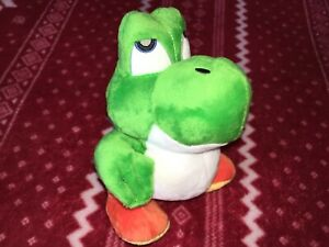 "CUSTOM 8"" BABY YOSHI Mario Plush Toy Figure Doll Unofficial NEW"
