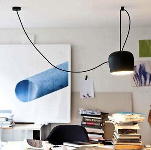 AIM SMALL Pendant by Flos Lighting | FU009809 BLACK