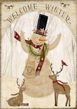 BÜGELBILD-Vintage-Shabby-Nostalgie-Weihnachten-Christmas-Winter-Schneemann-3209