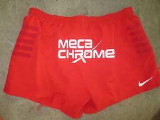Short rugby porté STADE TOULOUSAIN rouge NIKE collection Meca Chrome XXXL 3XL