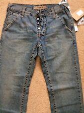 "RICHMOND men's Premium Jeans slim, blu, taglia 30, ca. W32""/L32"", 85% RRP £ 200"