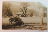Antique Real Photo Postcard D.B. Prout Owned by the Prouts 100 Years Ashland,NY