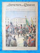 La Domenica del Corriere 5 giugno 1921 Sassari - Cornovaglia - Praga