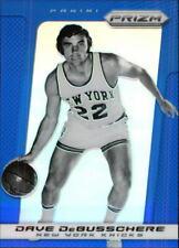 2013-14 Panini Prizm Prizms Blue Knicks Basketball Card #230 Dave DeBusschere
