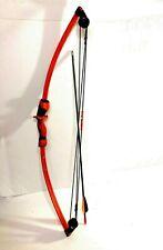 Barnett Archery Wildhawk Compound Bow 34 inches Orange and Black w/ arrow