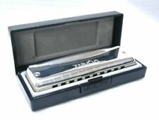 SUZUKI F-20J-F# Fabulous10 Hole Diatonic Harmonica  Key of F# - Ships from USA