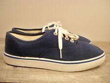 Vintage CONVERSE Blue Low Top Deck Sailing Sneaker Shoes Kicks Men's Size 6.5