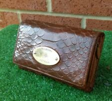 Vintage Mulberry Brown Leather Coin Purse