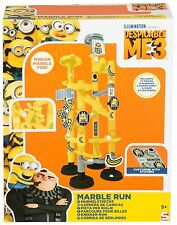 Official Despicable Me 3 Minions Kids Marble Run **NEW**