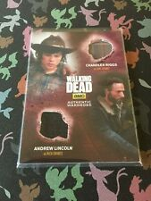 The Walking Dead Season 4 Part 1 Carl/Rick Dual Wardrobe Card DM4 Cryptozoic