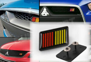 JDM BRAND NEW ABS RALLIART Grill Badge Front Emblem Grilles EVO