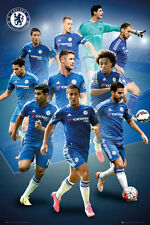 Chelsea - Players 15/16 POSTER 61x91cm NEW * Falcao Willian John Terry
