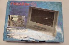 "TFL Nextar 7"" Mobile DVD Player LCD Screen MP1607 w Headrest & home adapter 20"